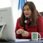 """Ministra Estela Díaz: """"Milagro Sala ha sido un ejemplo en la organización de la tierra y la vivienda"""""""