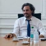"""Santiago Cafiero: """"No hay internas adentro del Frente de Todos. Está vigoroso, trabajando con una agenda amplia"""""""