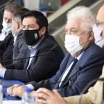 """Leo Nardini recibió a Ginés González García y Daniel Gollán: """"ojalá muchos lugares del país estuvieran como Malvinas Argentinas"""""""