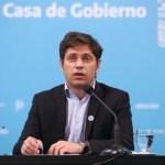 El Gobernador Kicillof confirmó que el AMBA de la Provincia deja el aislamiento el martes