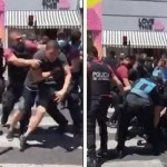 "Así reprime la ""Policía brava"" de Larreta a trabajadores vulnerables"