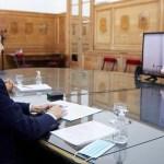 El ministro Wado De Pedro firmó con la intendenta de Moreno un convenio para enfrentar el coronavirus