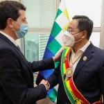 """Ministro """"Wado"""" De Pedro: """"la asunción de Arce en Bolivia le pone fin al golpe de estado apoyado por la OEA"""""""