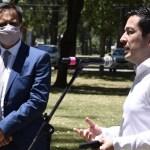El intendente Leo Nardini y el ministro Juan Cabandié juntos por el medio ambiente