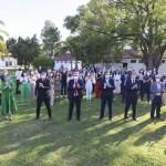 El presidente Fernández encabezó en la Residencia de Olivos un brindis por el fin de año con diputados del Frente de Todos