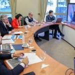 El Presidente Fernández y los gobernadores ultiman detalles del lanzamiento de la campaña de vacunación