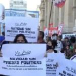 """Organizaciones políticas y sociales movilizaron a la Corte Suprema para reclamar una """"Navidad sin presos políticos"""""""