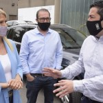 La vicegobernadora Verónica Magario eligió vacunarse contra el Covid en Malvinas Argentinas