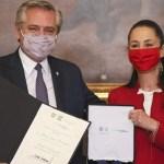 El presidente Alberto Fernández fue declarado Huésped Distinguido de la Ciudad de México