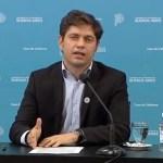 """Gobernador Kicillof: """"ya hay casi dos millones de inscriptos para vacunarse contra el coronavirus en la provincia de Buenos Aires"""""""