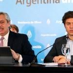 Reunión de urgencia en la Rosada, el presidente Fernández recibió al gobernador Kicillof para evaluar la situación sanitaria en el AMBA