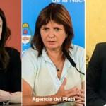 Denunciaron penalmente por atentado a la salud pública y sedición a Larreta, Stanley y Bullrich