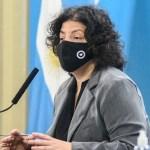 """Ministra Vizzotti subrayó evitar reuniones sociales: """"Hay medidas que están vigentes, pero no se están cumpliendo"""""""