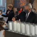"""El Presidente homenajeó a las víctimas de la pandemia: """"Construir el futuro de país con diversidad y sin divisiones irreconciliables"""""""
