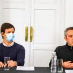 """Ministro Larroque: """"El gobierno no se distrae de lo importante, que es la inmunización del conjunto de la sociedad"""""""