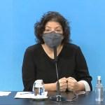 """Ministra Vizzotti: """"Se va a completar el esquema de vacunación con las dos dosis contra el coronavirus"""""""