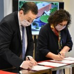 La ministra Vizzotti firmó un convenio con el gobernador de Santiago del Estero para construir un Hospital Universitario