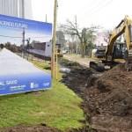 """Leo Nardini supervisó nuevo inicio de obra en Malvinas Argentinas: """"Es el esfuerzo del municipio al servicio de los vecinos y vecinas"""""""