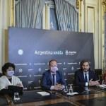 """Santiago Cafiero en la preliminar del programa Argentina Futura: """"Una de las prioridades del Gobierno fue siempre proyectar el futuro"""""""