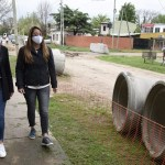 Noe Correa supervisó el inicio de una nueva obra integral de pavimento en el barrio San Antonio de Malvinas de Argentinas