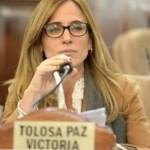 """Victoria Tolosa Paz: """"El expresidente Mauricio Macri desprecia la democracia"""""""
