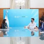 El ministro «Wado» De Pedro recibió a los candidatos a diputados nacionales del Frente de Todos por Jujuy