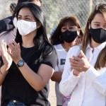 Noe Correa visitó el club «El Mundialito». Durante la pandemia abrió sus puertas para asistir con alimentos a familias vulnerables