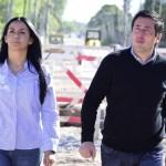 El ministro Nardini y la intendenta Correa visitaron el comienzo de una nueva mega obra para la ciudad de Tortuguitas