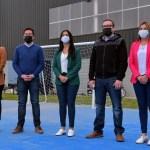 El ministro Leo Nardini y la intendenta Noe Correa inauguraron el polideportivo de Tierras Altas-Tortuguitas