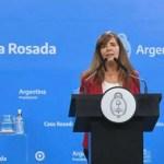 Casa Rosada: «El Gobierno inauguró conferencias de prensa semanales»