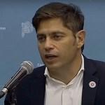 Gobernador Kicillof sobre las elecciones 2021: «Se juega la posibilidad de recuperarnos de la pandemia y del macrismo»