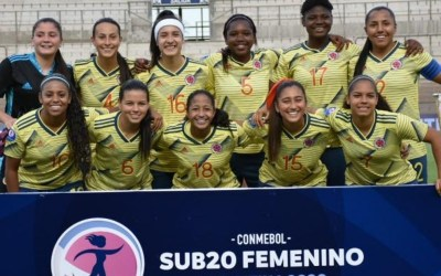 Selección Colombia Femenina golea a Bolivia en el inicio del Sudamericano Sub-20.