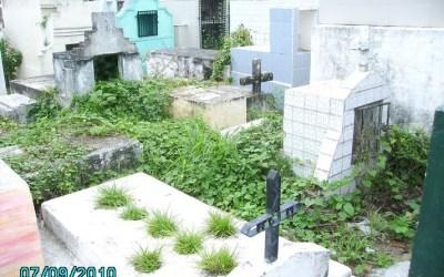 Colapsa cementerio del Copey en el departamento del Cesar