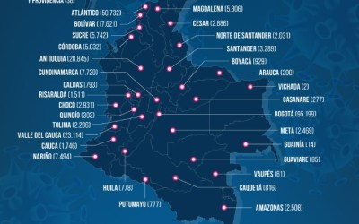 Colombia récord de muertes por COVID-19 : 380 fallecidos en 24 horas