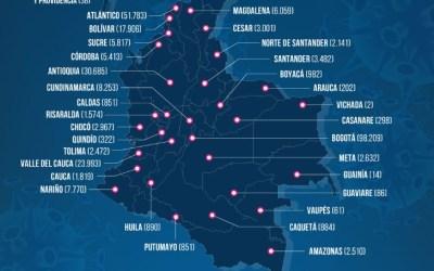 Con muertos de hoy o de hace un mes Colombia reportó 357 muertes por Covid 19
