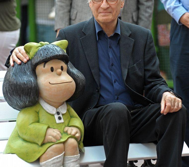 Murió Quino, creador de la irreverente y amada Mafalda