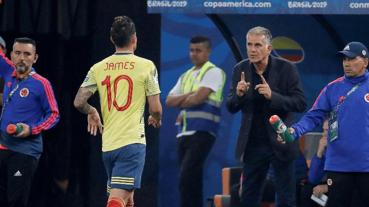 """Queiroz: """"El fútbol algunas veces es cruel; nos aporta cosas buenas, pero algunas veces nos sorprende""""."""