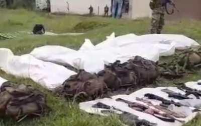 Abatidos en Ituango Antioquia, 7 miembros del Clan del Golfo