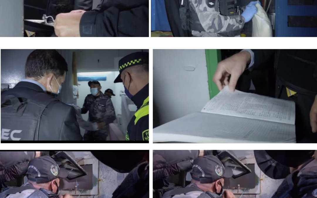 756 celulares, 3 kilos de cocaína, 2 de marihuana, un televisor y 9 millones de pesos incautados en cárceles de Colombia el país