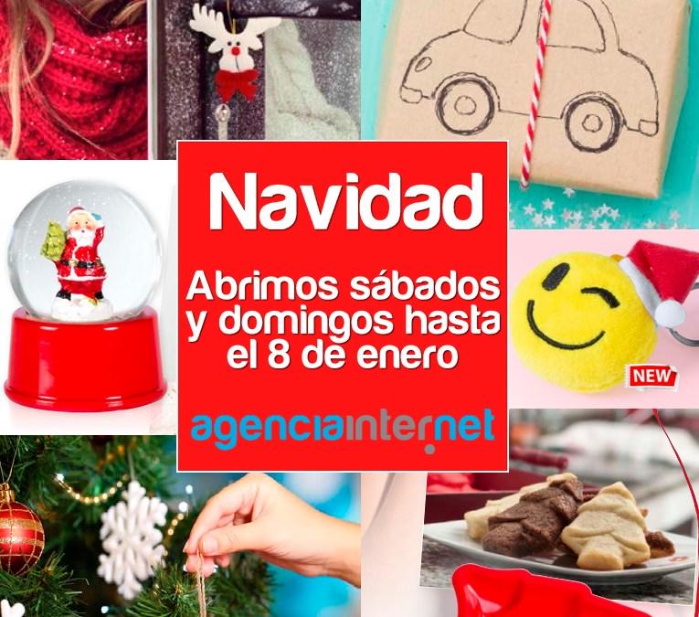 Abrimos todos los días de Navidad