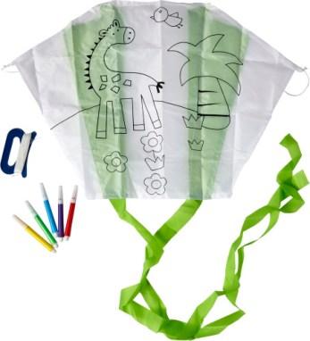 Cometa con rotuladores para colorear, Escuela – Algeciras