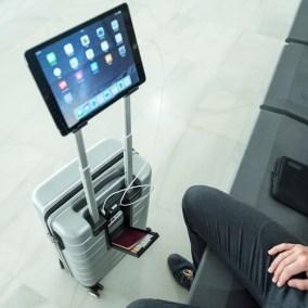 trolley soporte tablet
