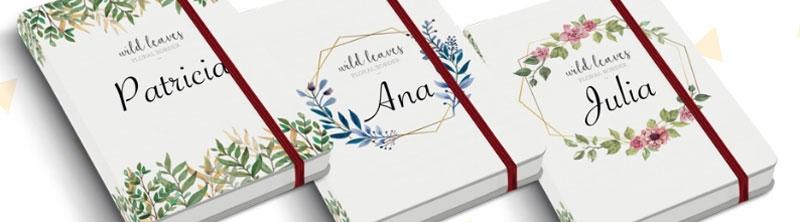 Cuadernos con impresión individual, un diseño diferente para cada ejemplar