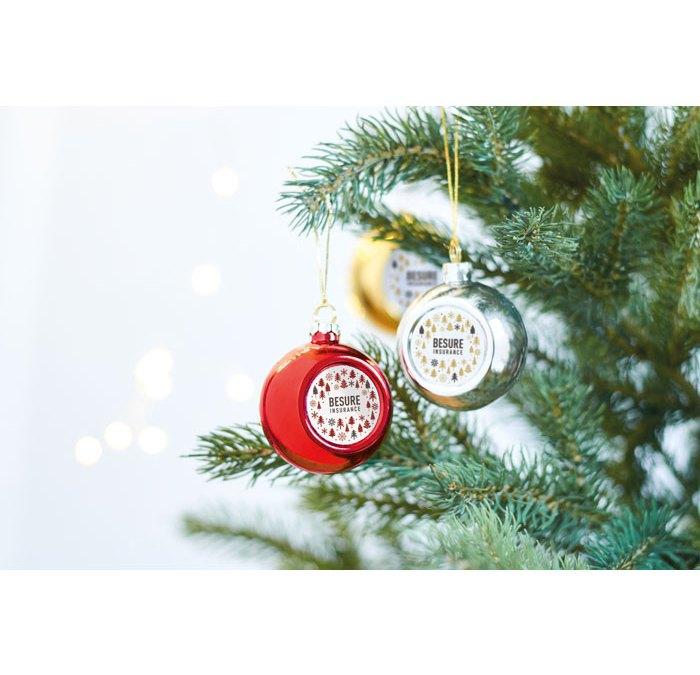 Tu logo en el Árbol de Navidad