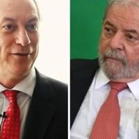 """Lula chama Ciro de """"grosseiro"""" e diz que eleitor podia ter votado... no Boulos..."""
