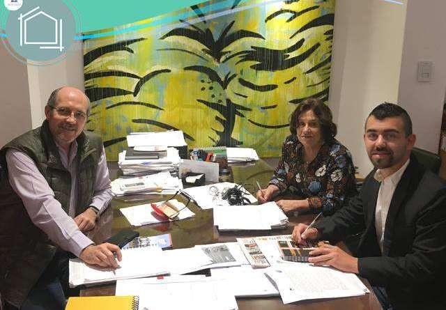 Matías Schiro se reunió con autoridades de la Facultad de Arquitectura