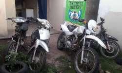 Recuperaron 3 motos robadas, no hay detenidos