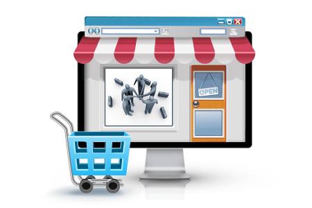 Criação de loja virtual com Franquias