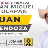 """Denuncia PRD """"levantón"""" de su candidato en San Miguel Totolapan; el aludido lo niega"""