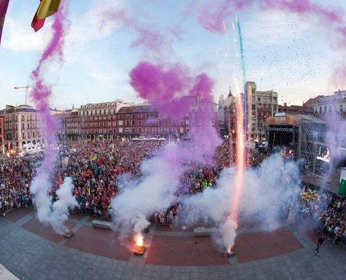Pregón de las fiestas de Valladolid - Photogenic Agencia Gráfica